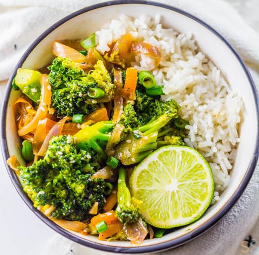 Broccoli Stir Fry Recipe #vegan #vegetable #mushroom #broccoli #paleo