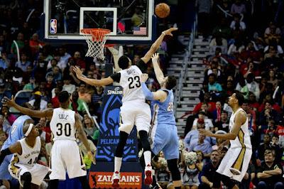 Denver Nuggets vs New Orleans Pelicans