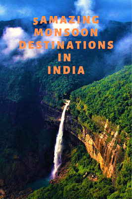 Top monsoon destinations of India