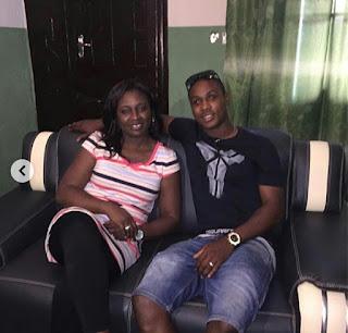 Nigerian Footballer, Jude Ighalo Loses His Sister, Mary (Photo)
