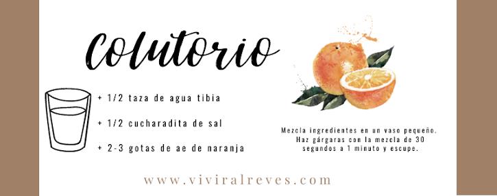 Colutorio de ae de naranja