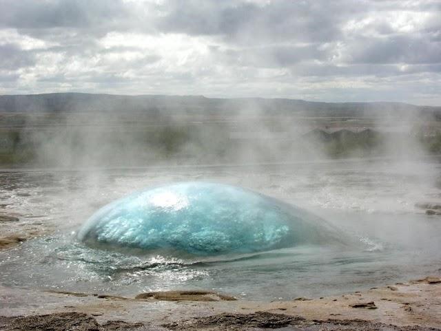 An Adventurous Place Known As Strokkur Geyser Iceland