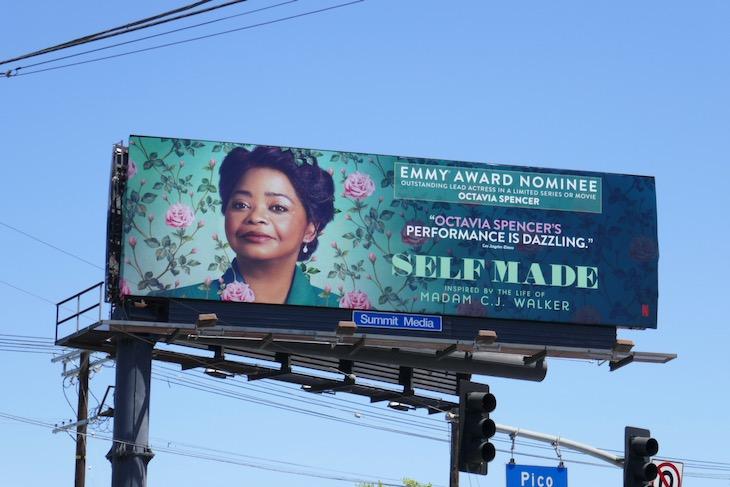 Octavia Spencer Self Made Emmy nominee billboard