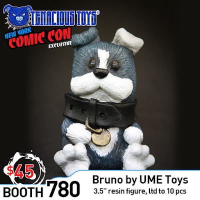 New York Comic Con 2019 Exclusive Bruno Resin Figure by UME Toys x Tenacious Toys