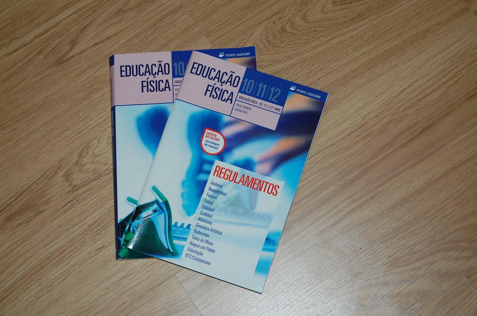 Manuais Escolares  Educação Física - 10 11 12 ano 8047695f0f5c3