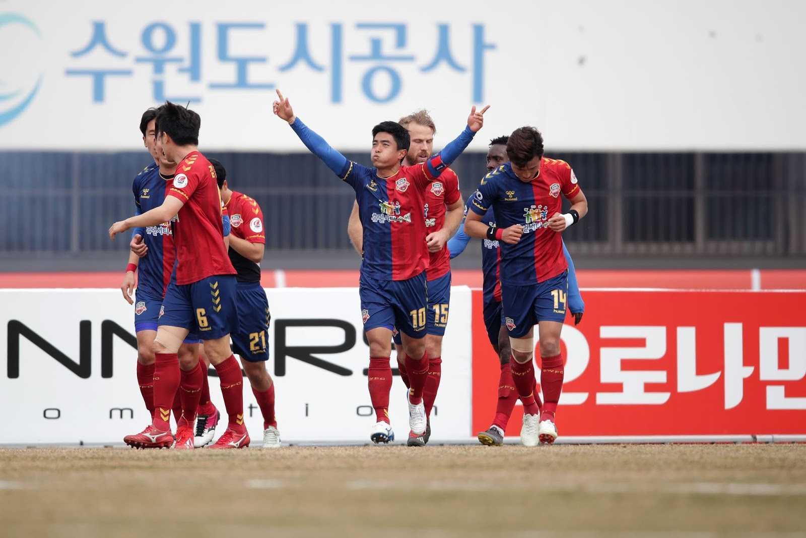 Preview: Suwon FC vs Ansan Greeners K League 2 Round 3 Baek Sung-dong