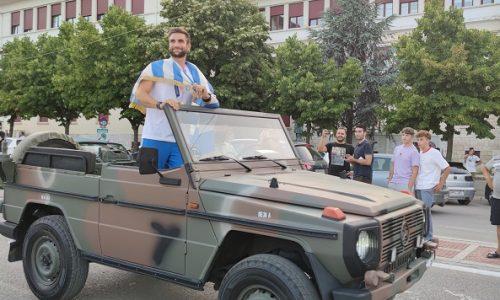 Μία μαγική βραδιά έζησαν τα Γιάννινα… Και δεν ήταν άλλη από αυτή που χάρισε στην πόλη ο χρυσός Ολυμπιονίκης Στέφανος Ντούσκος.
