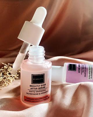 scarlett whitening serum ingredients
