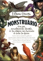 Monstruario Liliana Cinetto - portada libro