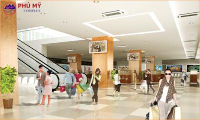 Trung tâm thương mại dự án Phú Mỹ Ngoại Giao Đoàn