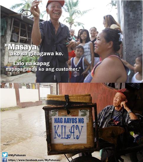 INSPIRING! Meet The 78-Year-Old Behind This Mobile 'Kilay Salon': 'Kung Hindi Ka Mag-Sipag Ay Gutom Ang Kalabasan Mo'