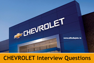 Chevrolet Interview Questions