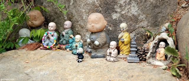 Figuritas budistas en Gilsangsa
