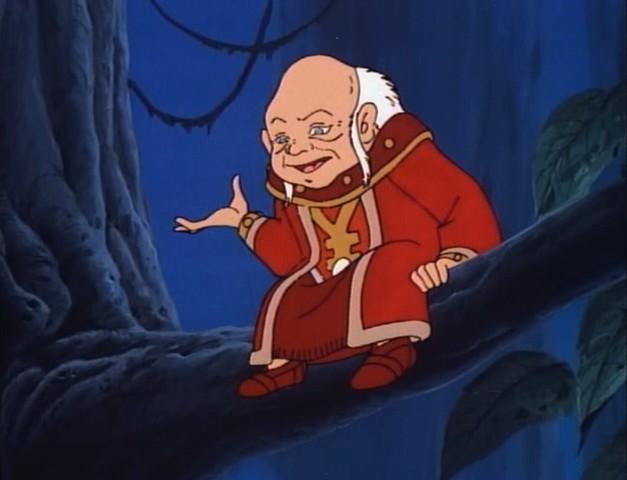 Resultado de imagem para gif mestre dos magos caverna do dragão