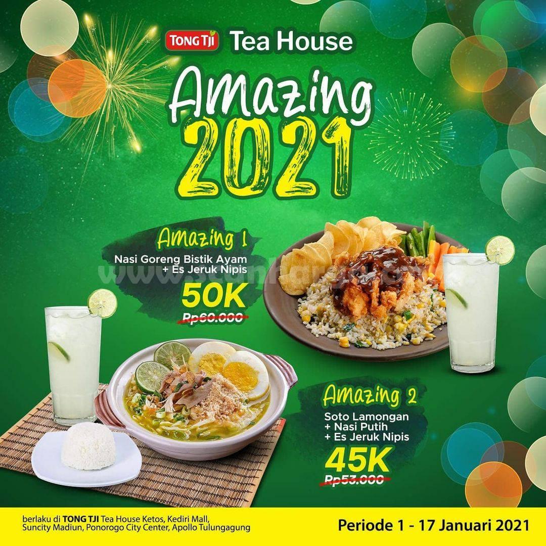 Teh Tong Tji Promo Paket Amazing harga mulai Rp 45K