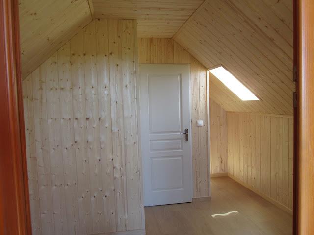 Maison ossature bois AMDT - Habillage bois