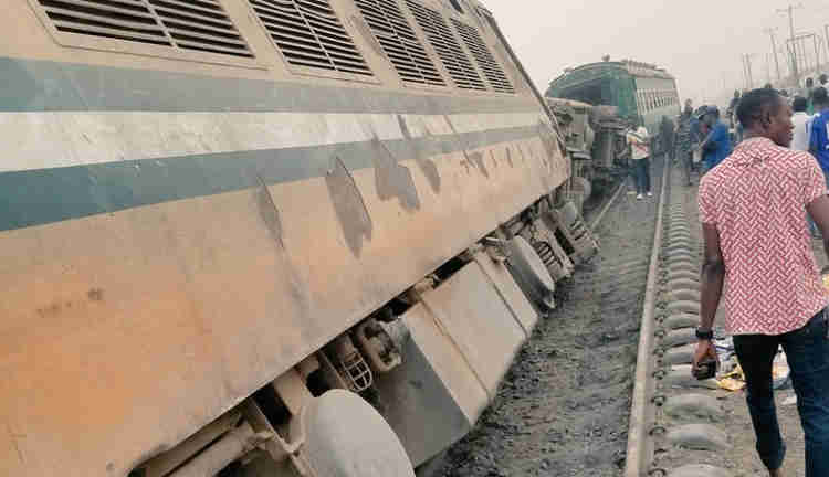 Train collision claims life of 10, left 70 injured