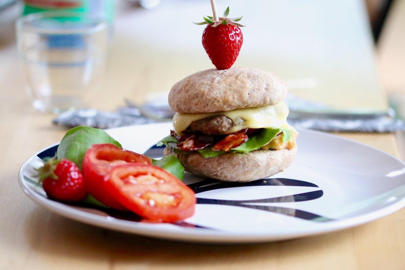 Der Laufgedanke: Burger-Meister(innen) I Veganer Dinkel-Burger Bun
