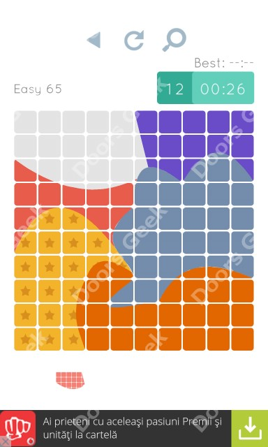 Cheats, Walkthrough for Blocks and Shapes Level 65