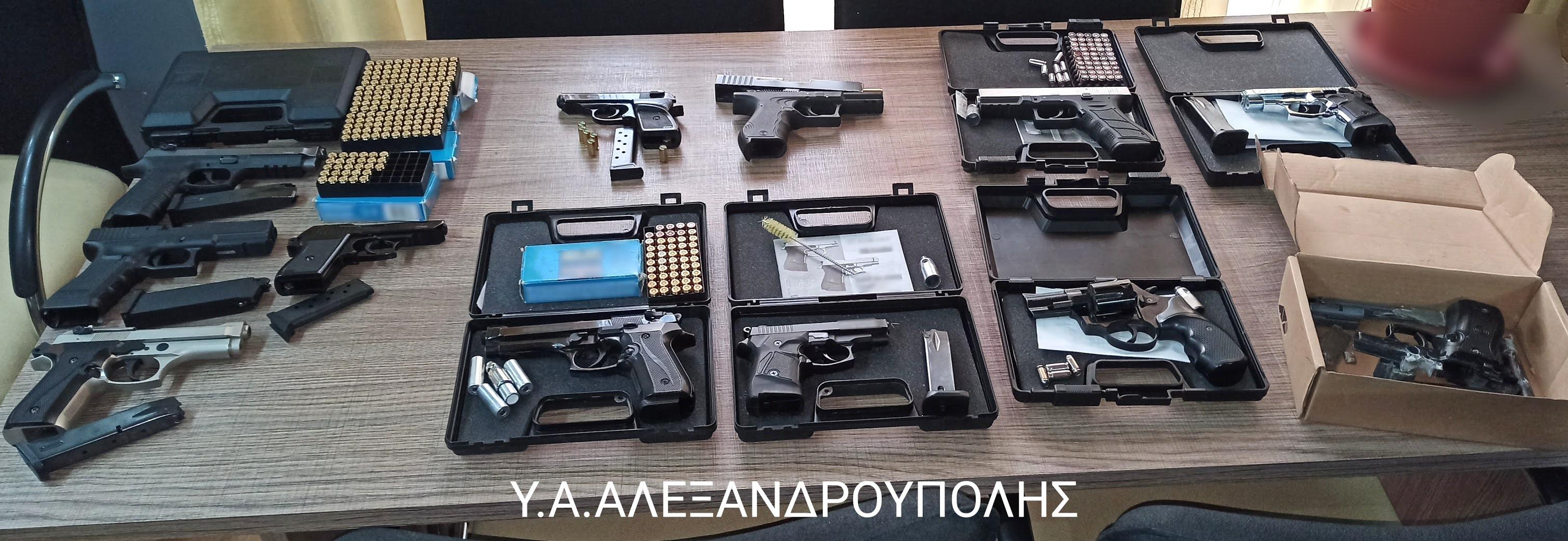 Τα πιστόλια κρότου τους έβαλαν σε δικαστικές περιπέτειες