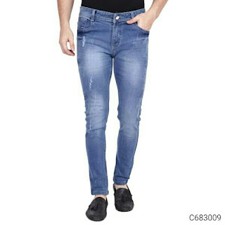 Denim Solid Slim Fit Jeans