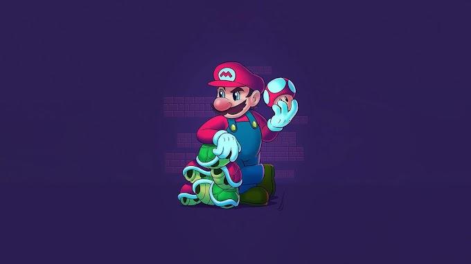 Papel de Parede Mario Bros hd