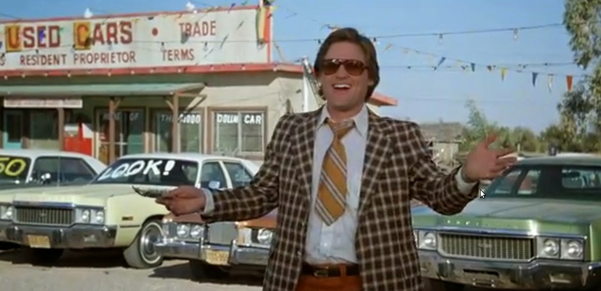 "Good Car Movies: On Second Look: ""Used Cars"" (1980) Dir- Robert Zemeckis"