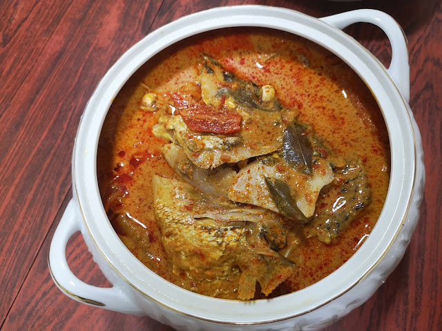 Traditional Fish Head Curry