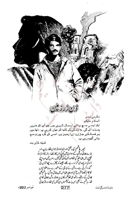 Free download Zan zar zameen novel by Samina Tahir Butt pdf