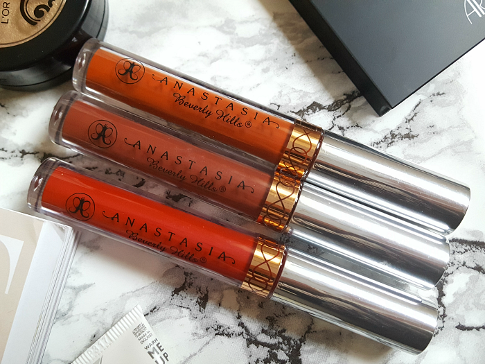 Anastasia Beverly Hills Liquid Lipsticks - je 20$