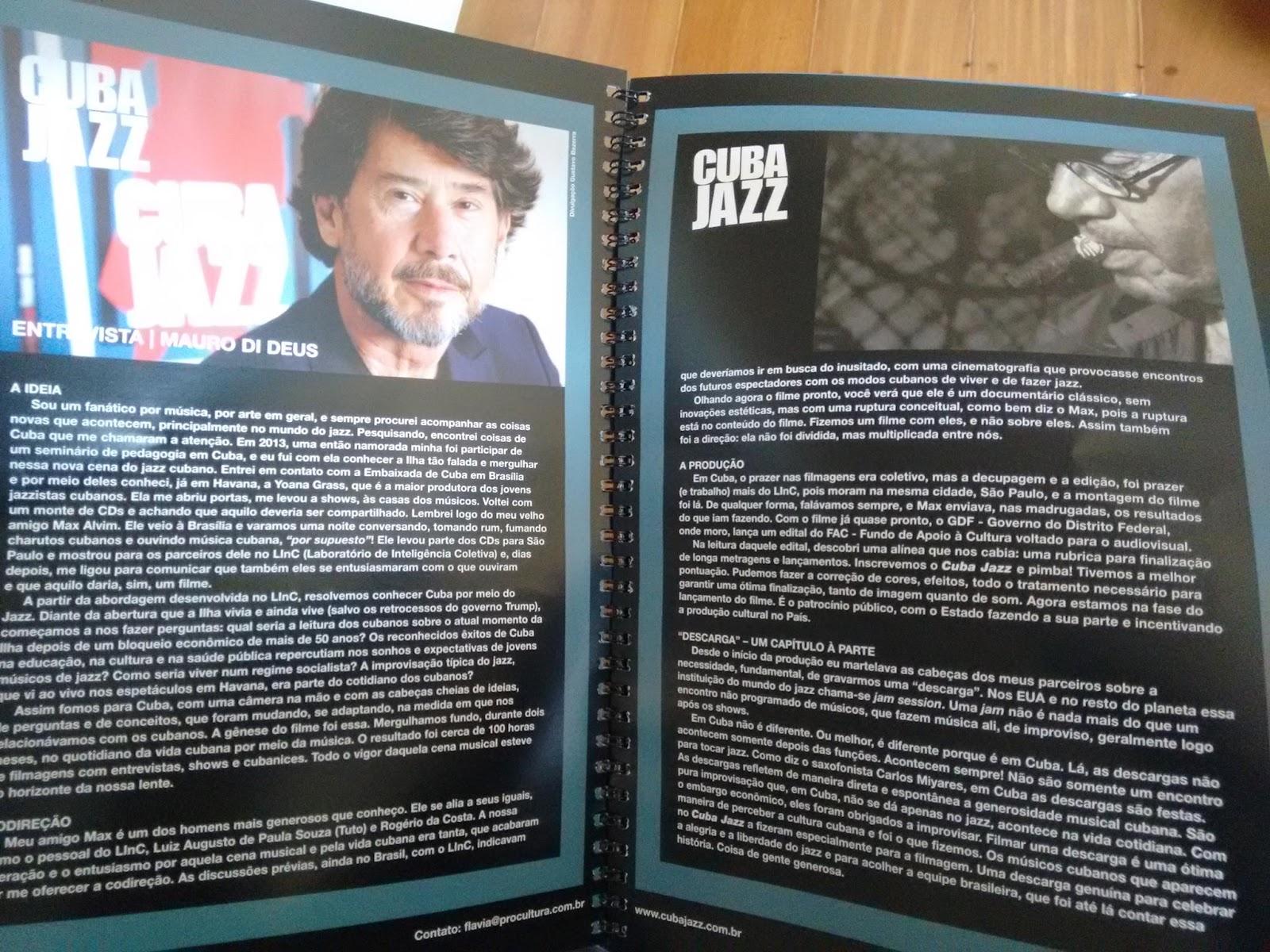 Filmes Sobre Musicos for cuba jazz [documentário] - o que tem na nossa estante