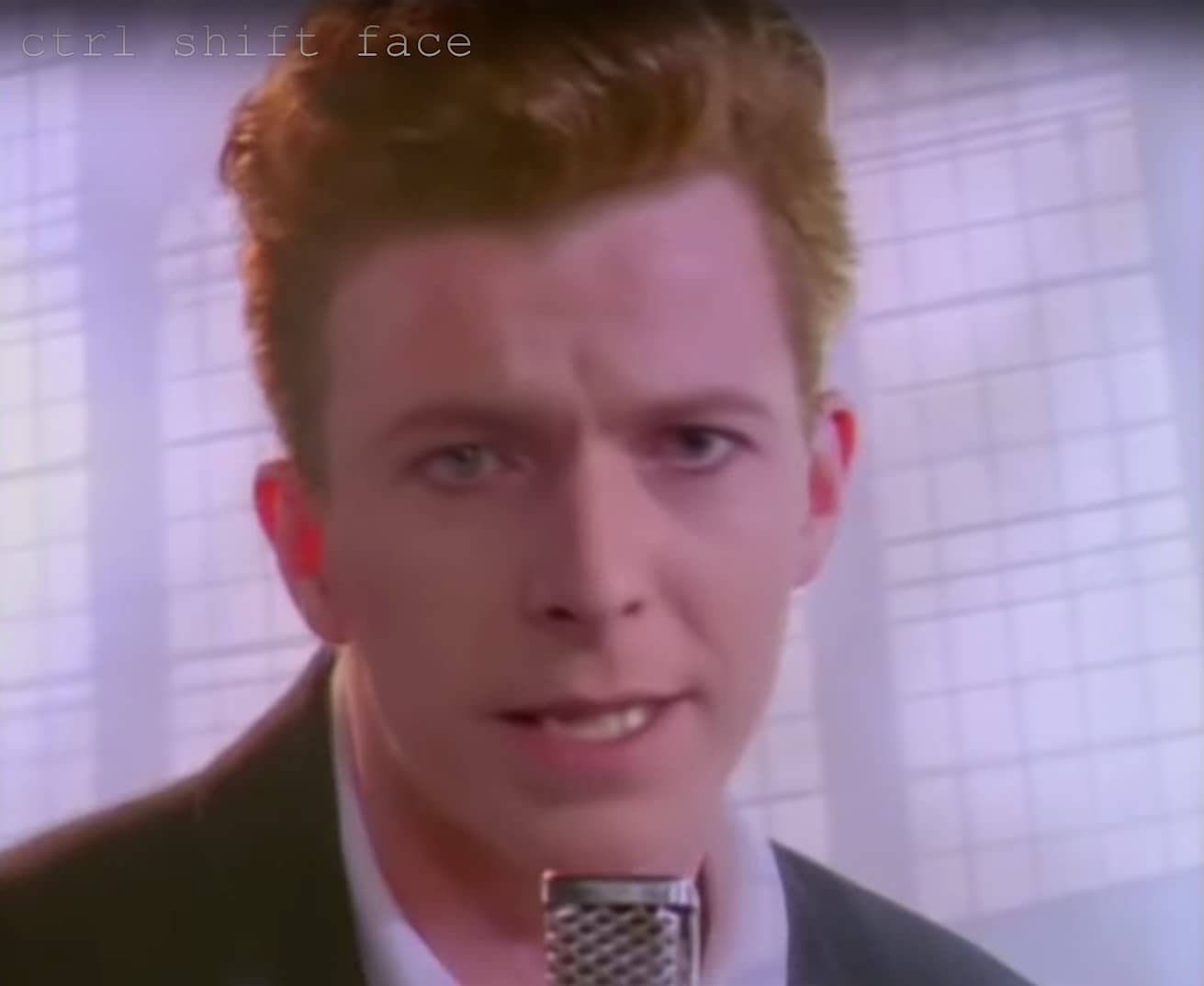 Ctrl Shift Face | David Bowie - Deep Fake Love Musikvideo