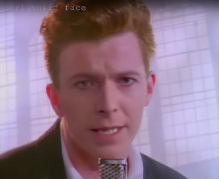 Ctrl Shift Face | David Bowie - Deep Fake Love Musikvideo
