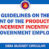 Grant of the Productivity Enhancement Incentive (PEI) to Government Employees
