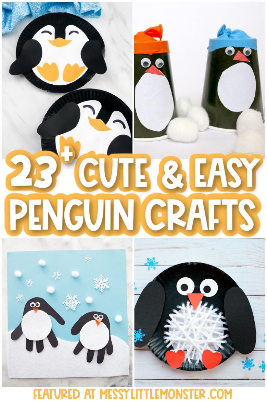 Penguin crafts for preschool