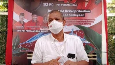 7 Kadernya Dilantik Jadi Kepala Daerah Hari Ini, DPD PDIP Sumut Pesan Begini