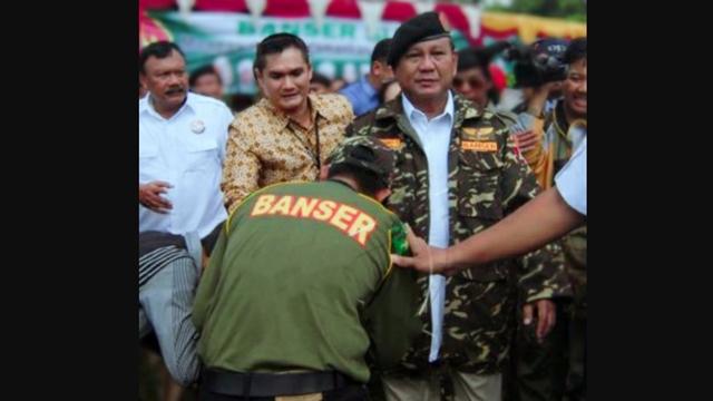 Prabowo Ditunjuk Jadi Menteri Pertahanan, Warganet: Banser Turut Bangga