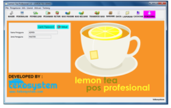Download Lemon Tea POS Profesional