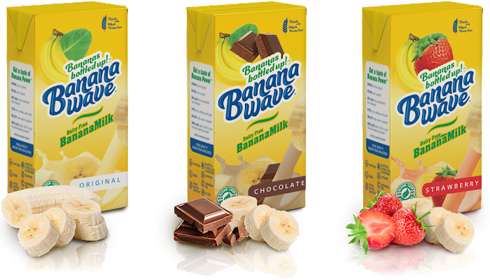 A Healthy and Delicious Option for the Whole Family: Banana Wave Banana Milk!