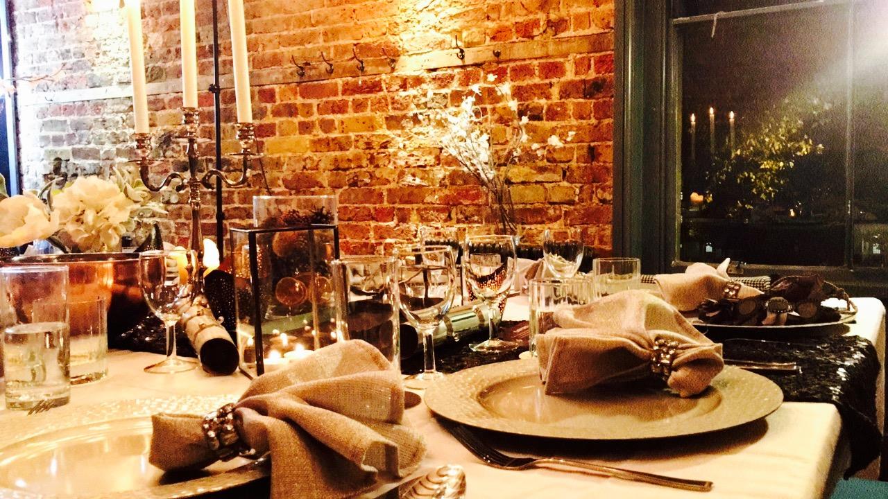 @Eatfirst x @Adorngirl Festive Supper Club