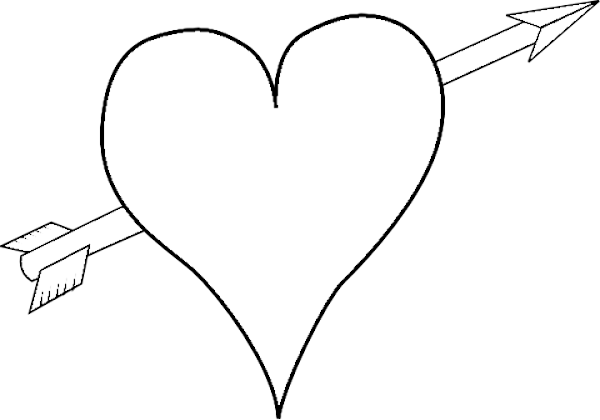 valentines hearts coloring pages - cute valentine heart coloring pages