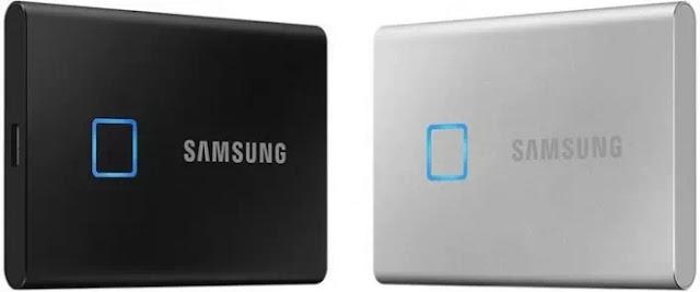 Samsung Merilis SSD Portable Dengan Pemindai Sidik Jari