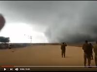VIDEO: Badai Sangat Aneh di Perbatasan Israel Apakah Kiriman Tuhan untuk hadang ...
