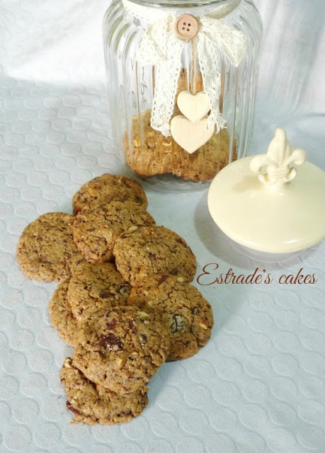 Receta de cookies integrales 1