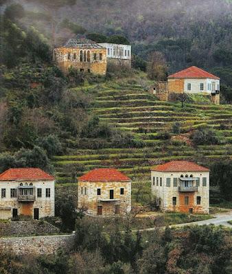 Traditional_Lebanese_Village, old_Lebanese_Houses