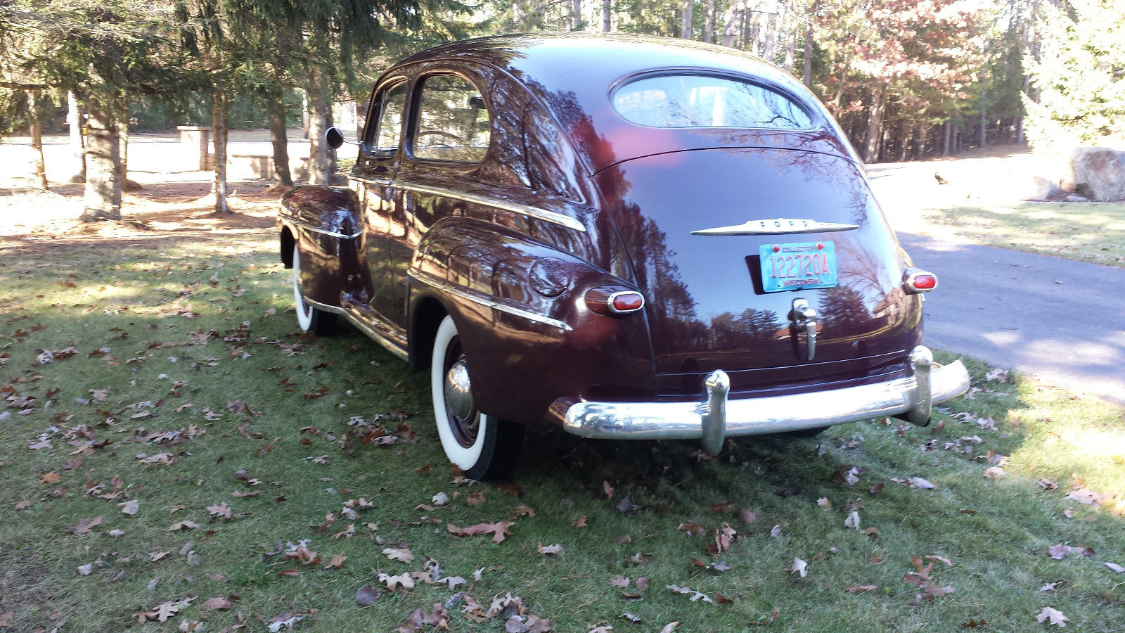 All american classic cars march 2016 for 1948 ford two door sedan