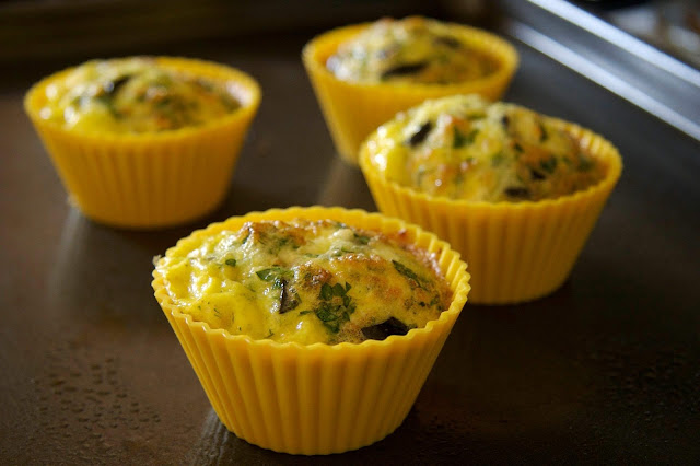 RECIPE FOR EGG MUFFINS WITH CHEESE