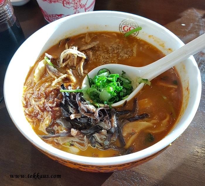 Go Noodle House Review Aeon Melaka