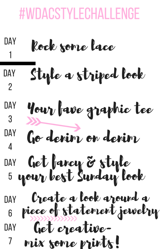 Seven Day Style Challenge