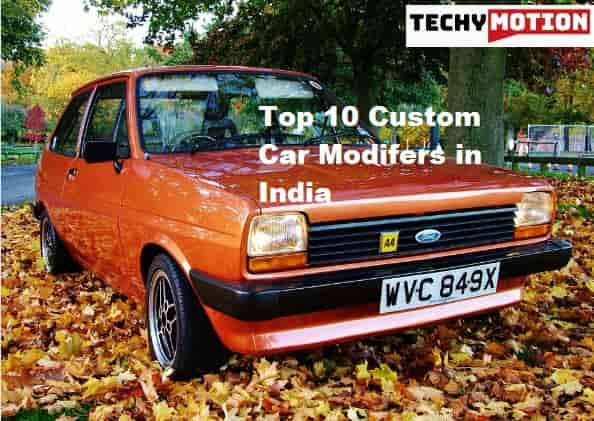 Top 10 Custom Car Modifers in India